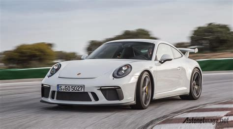 porsche indonesia porsche 911 gt3 2018 white autonetmagz review mobil