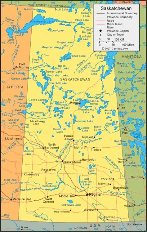 map of saskatchewan canada saskatchewan map satellite image roads lakes rivers