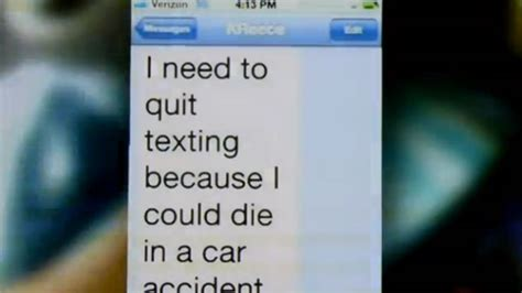 Texas Student Sends Chilling Text Moments Before Crash