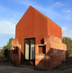 home re modern prefab metal home re mixes brick wood steel