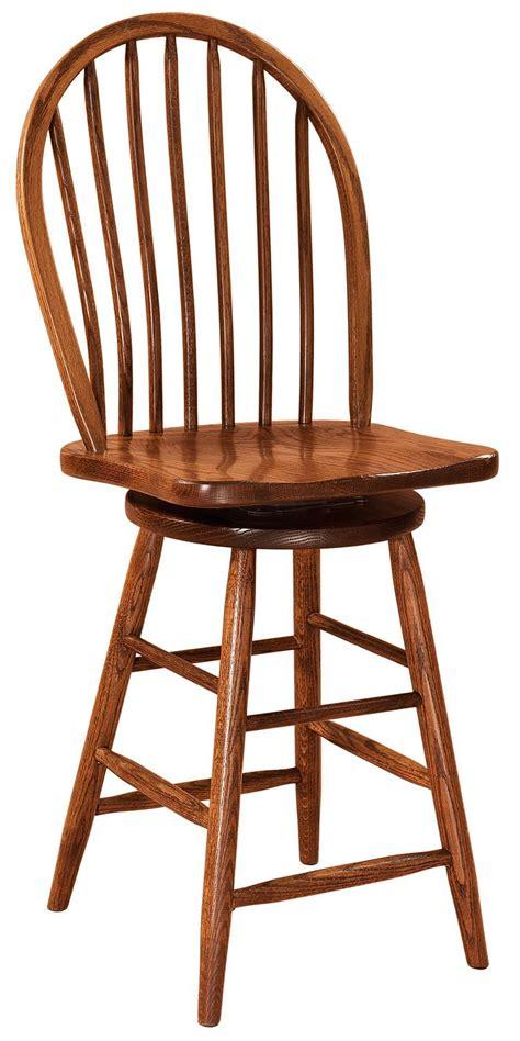 econo windsor swivel bar stool  dutchcrafters amish