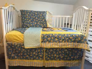 Minion Toddler Bed Comforter Minion Despicable Me Boutique Crib Mini Crib Nursery Toddler