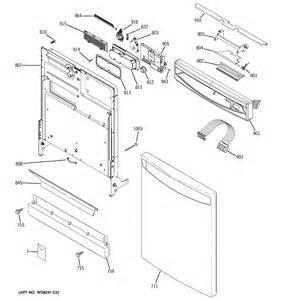 ge triton dishwasher parts diagram ge free engine image