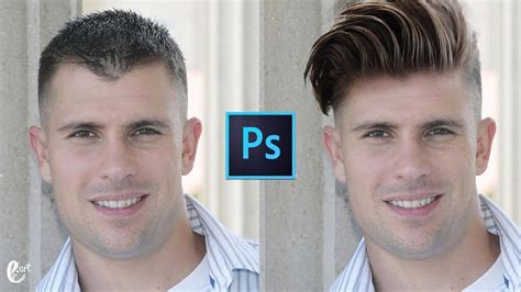 Change Hairstyle Photoshop by How To Change Hairstyle In Photoshop Tutorial Photoshop