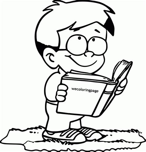 coloring page reading book read a book coloring page many interesting cliparts