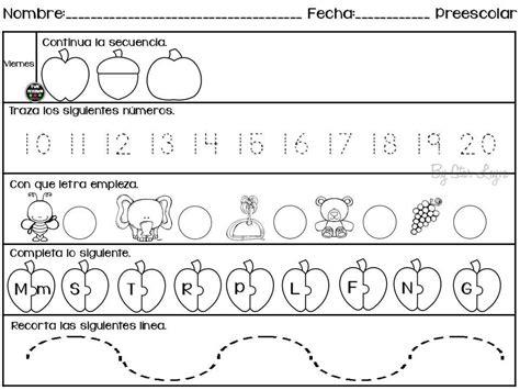 imagenes educativas de preescolar semanario de actividades para preescolar actividades de