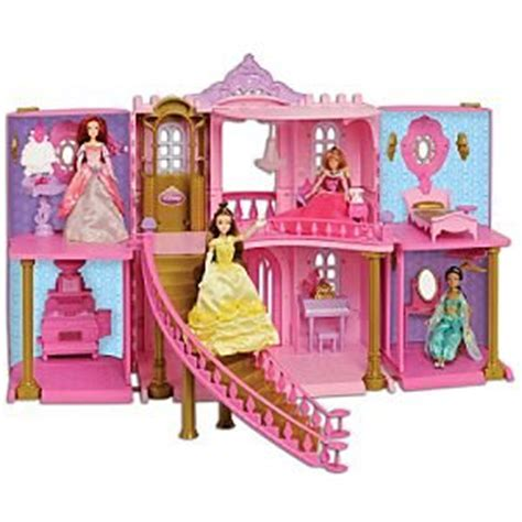 disney princess doll house amazon com disney princess enchanted castle palace