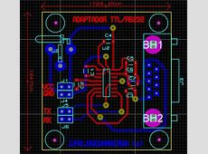 PCB (Printed Circuit Board) designed with Proteus ARES ... Range List Python