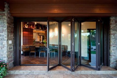 Patio Accordion Doors Folding Doors Folding Doors With Glass Panels