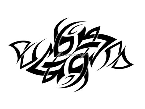 tribal sticker 9 amp decal car stickers decals