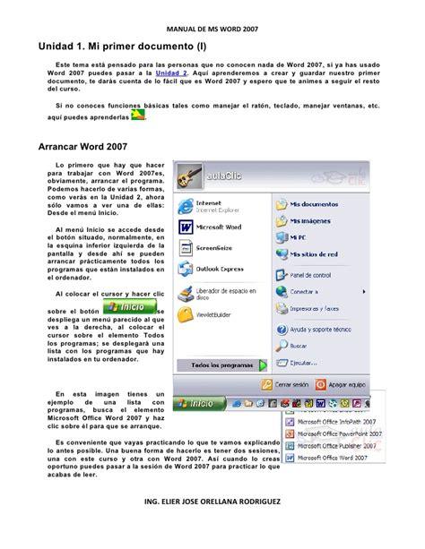 tutorial word 2007 tutorial de word 2007 aulaclic
