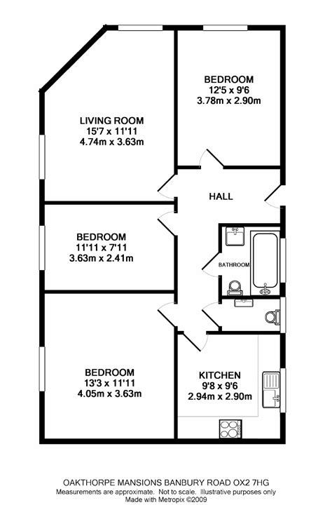 floor plans for 3 bedroom flats oakthorpe mansions summertown ox2 ref 3473 oxford summertown