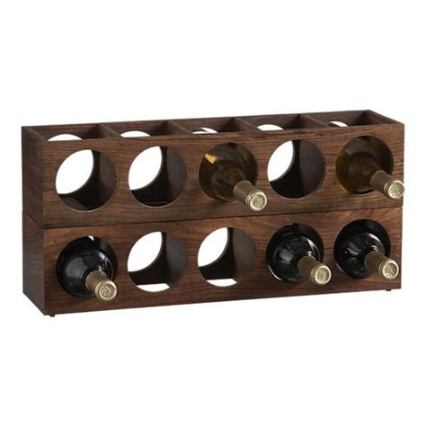 Crate And Barrel Wine Racks by Wall Mount Wine Racks From Crate Barrel Would 1 2 Of These Or Like It Mounted