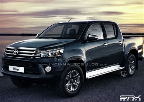 toyota hilux new model 2016 2016 toyota hilux revo 2016 fortuner based teased