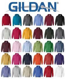 gildan sweatshirt colors gildan heavy blend hooded sweatshirt 18500 s 5xl