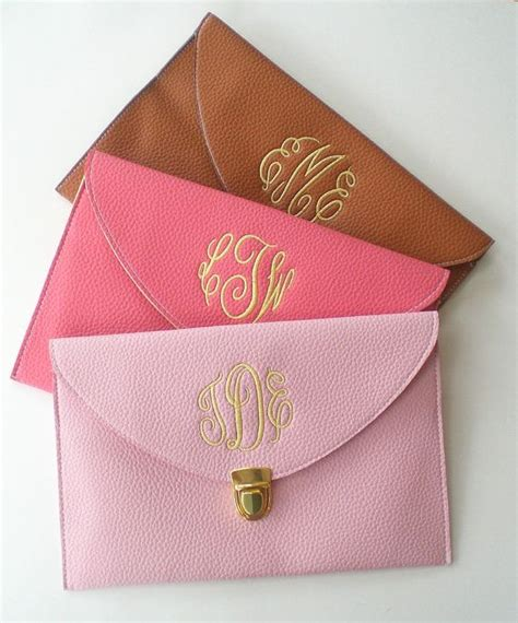 Monogrammed Gifts - clutch purse with detachable chain monogram gifts sale