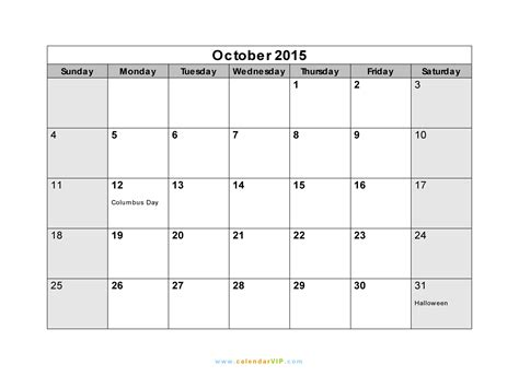 october  calendar blank printable calendar template   word excel