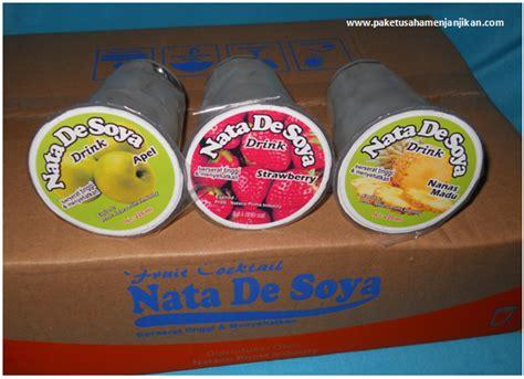 membuat nata de soya wira usaha modal kecil usaha nata de soya tanpa limbah