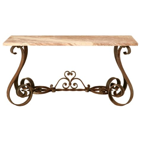rod iron sofa table wrought iron sofa table homesfeed