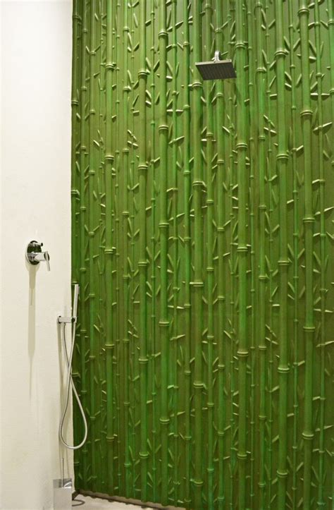 bamboo bathroom ideas ideas modern style designs of bamboo panel natural style bathroom decoration ideas