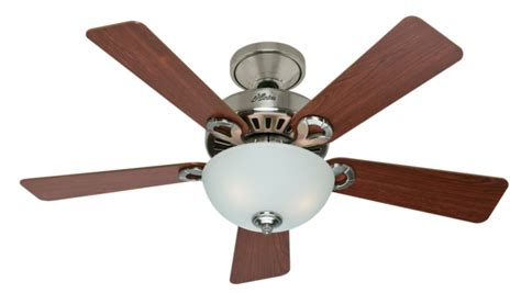 hunter fan support number 44 quot brushed nickel chrome ceiling fan other 28777