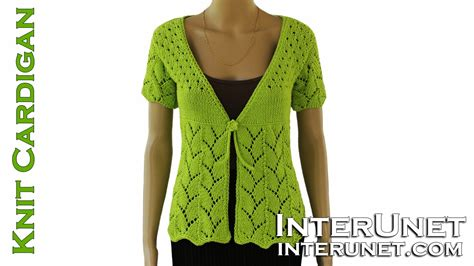 knit pattern short sleeve sweater how to knit women s short sleeve tie front cardigan
