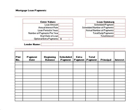 6 project payment schedule templates 6 free word pdf format