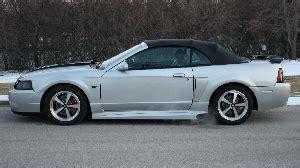 exterior silver 2000 mustang gt convertible mustang