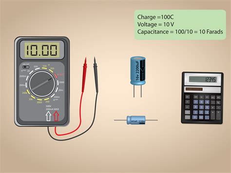 how to measure capacitance 3 steps with pictures