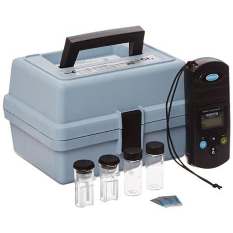 Pocket Colorimeter Ii Chlorine Free Adn Total Hach 5870000 1 hach pocket colorimeter ii chlorine free and total