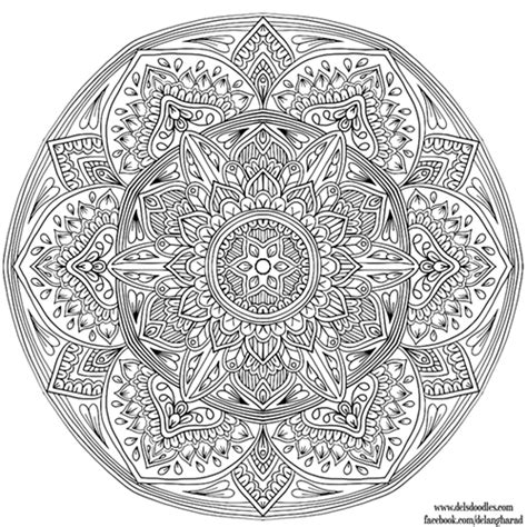 mandala coloring pages a4 two new mandalas