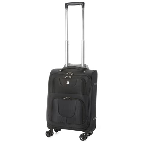 lightweight cabin luggage aerolite aero9978 lightweight 8 wheel cabin luggage