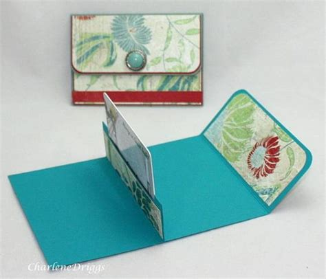 Make Gift Card Holder - purse gift card holder could be modified slightly to make more for men women or