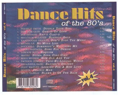 best 80s dance songs dance hits of the 80 s vol 04 at odimusic
