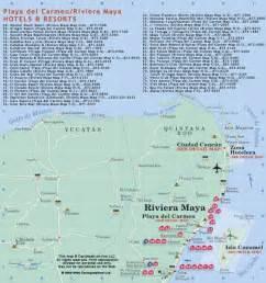 Riviera Maya Mexico Map by Mexico Map Riviera Maya