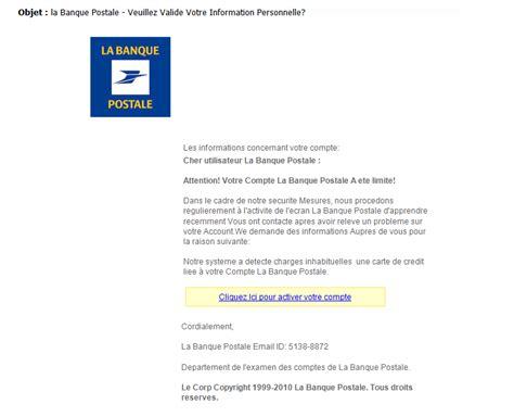 Exemple De Lettre De Présentation Pour Banque Phishing Des Mails Dangereux Qui Ont L Air Parfois Vrais Informatique