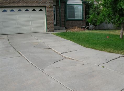 how to repair a in concrete patio concrete driveway