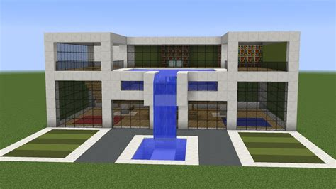 modern house minecraft minecraft how to build a modern house 11 youtube