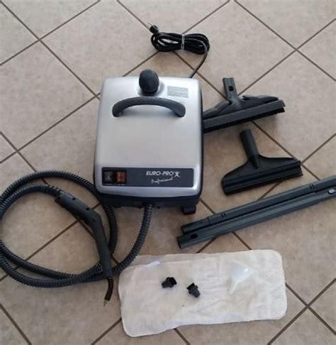 Euro Pro  Sc  Professional Steamer  Attachments
