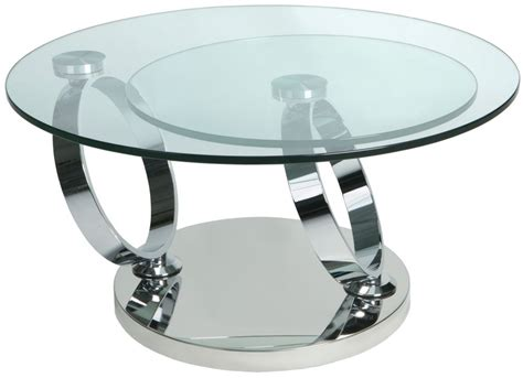 buy greenapple glass plus magic rotating coffee table