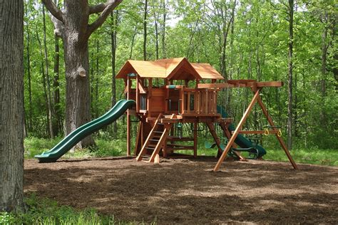 woodplay swing set middlebury fence woodplay playsets swingsets in vermont