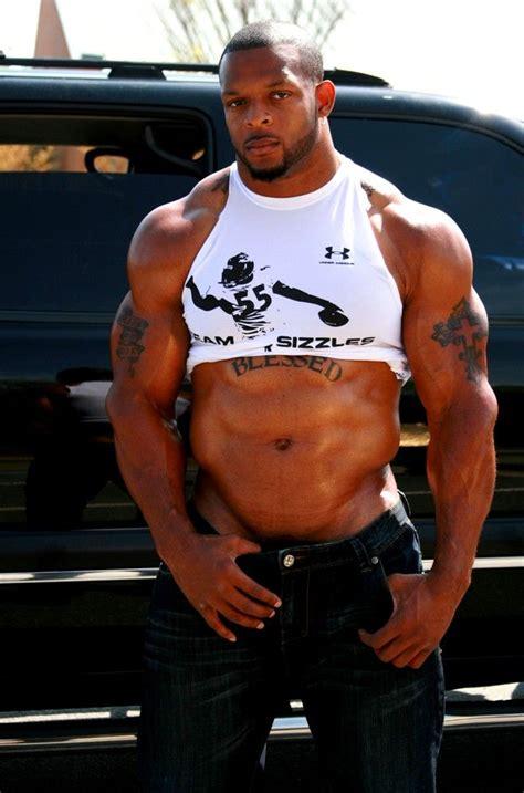 male muscle specimens 114 best black hunks images on pinterest