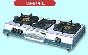 Kompor Gas Rinnai R 522 E welcome to glodok kecil home appliances rinnai kompor gas