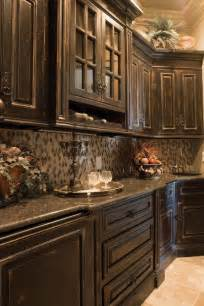 1000 ideas about black distressed cabinets on