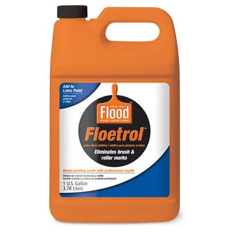 home depot paint label flood 1 gal floetrol paint additive fld6 01 the