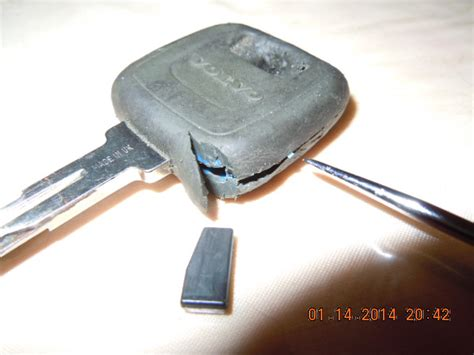 immobilizer chip extraction  key  volvo  volvo forums