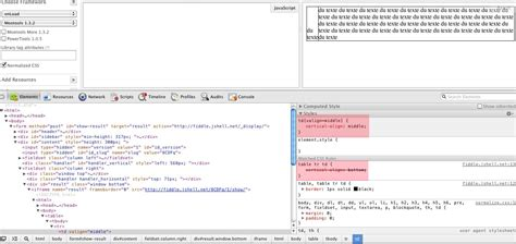 html is a table cell valign property considered as an