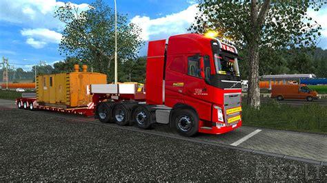 mod game euro truck volvo fh16 2012 tag transport euro truck simulator 2