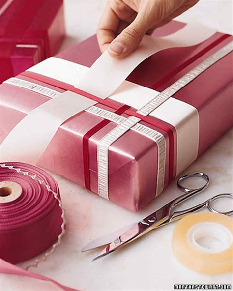 wrapping presents gift wrapping ideas martha stewart