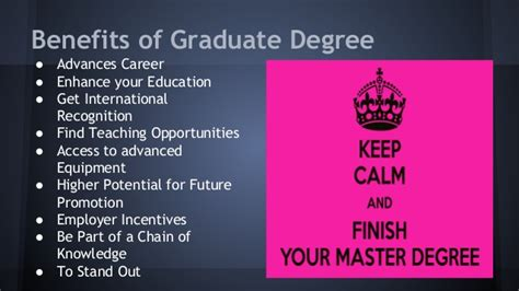 Do Mba Degree Require Previous Graduate Degree by Should I Get A Graduate Degree